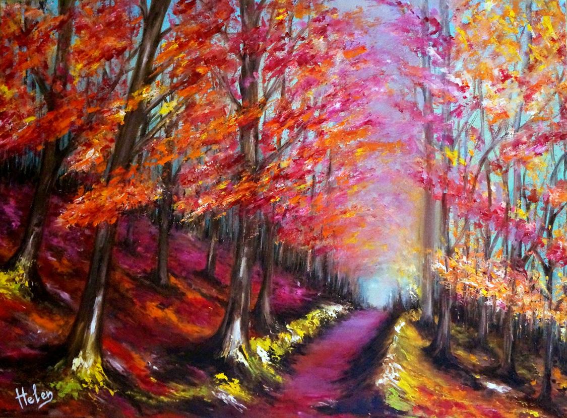 Autumn, 81x60cm