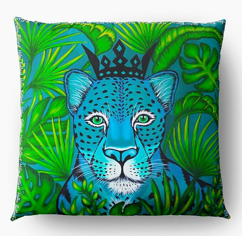 Jungle Leopard decorative pillow cover
