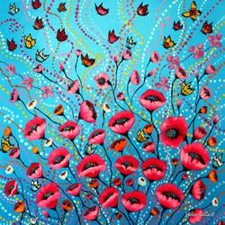 Poppies Blossom
