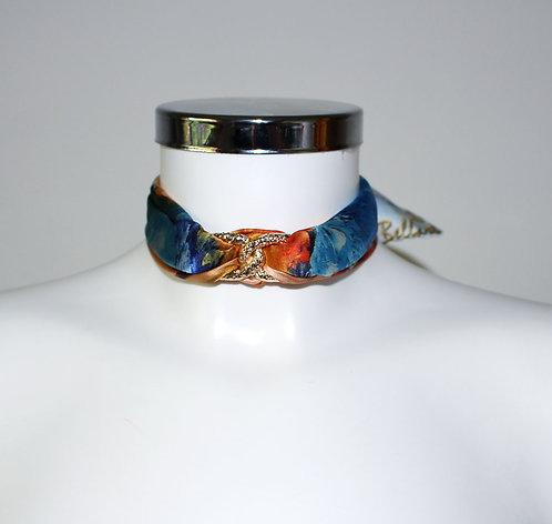 Caribbean woman Choker Necklace