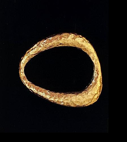 Gold Ring for bracelet