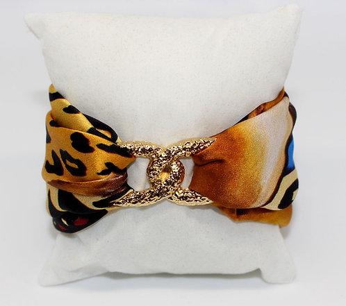 Leona Infinity silk bracelet
