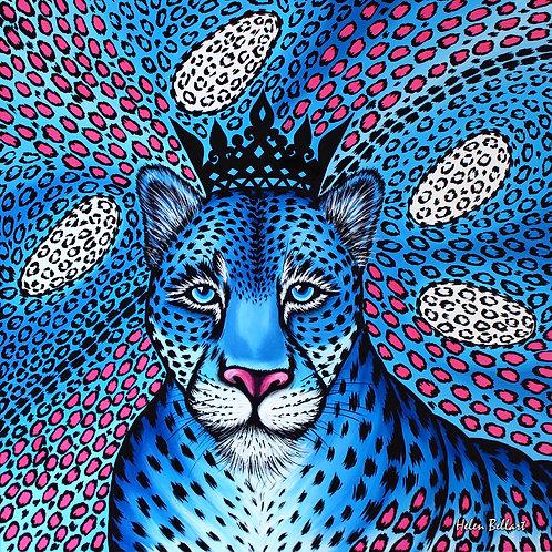 Blue Leopard artwork