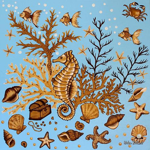 Sea treasure artwork