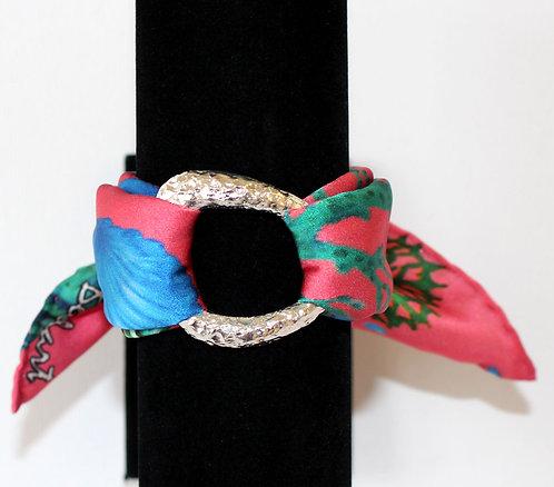 Seafloor silk bracelet