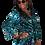 Thumbnail: Esmeralda Leopard tie earring
