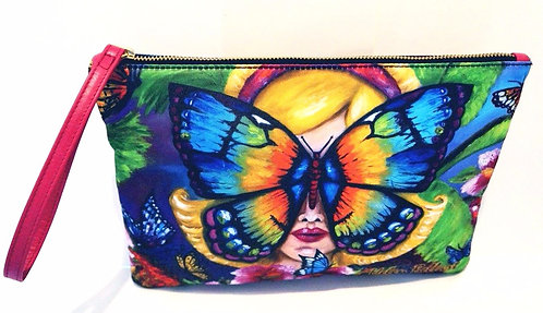 Butterfly clutch bag