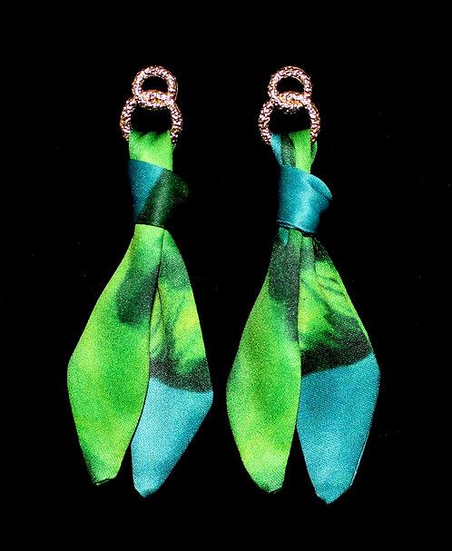 Jungle Leopard tie earring