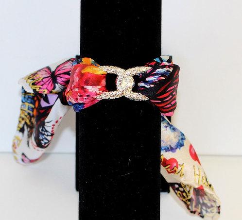 Fall in Love Join Infinity silk bracelet