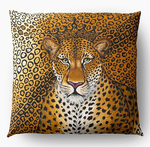 Jaguar decorative pillow cover