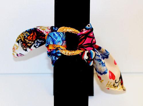 Fall in Love silk bracelet