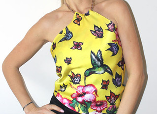 Butterfly Paradise Silk Top & amazing ways how to take it every day...