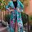 Thumbnail: Pink Seahorse long kimono-cardigan
