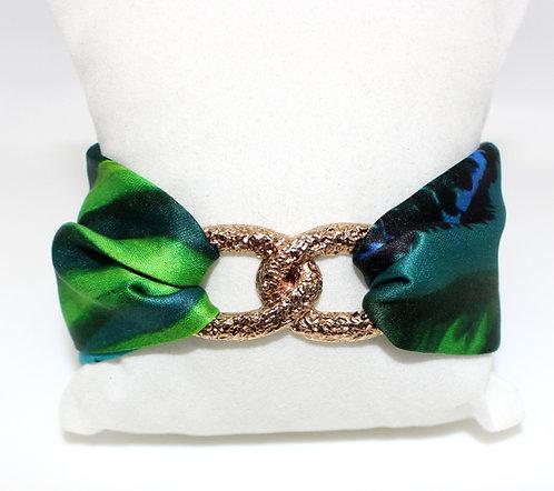 Jungle Leopard Infinity bracelet