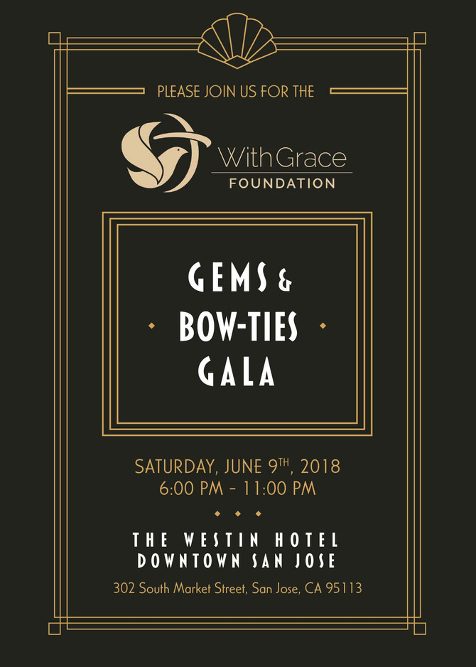 With Grace Foundation Gems and Bow-ties Gala
