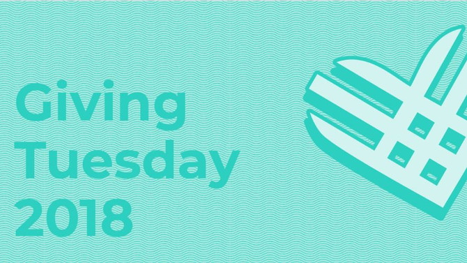 Tomorrow is Giving Tuesday!