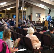 Jeremy Stalnecker speaking