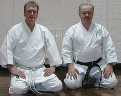 Dave Kershaw with Jim Palmer