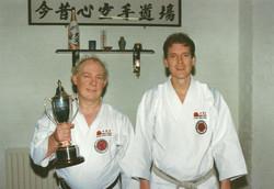 Charles Hannah with Dave Kershaw