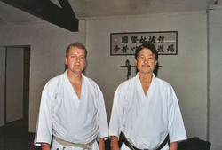Dave Kershaw with Shiro Asano