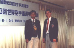 Dave Kershaw with Paul Chin in Tokyo