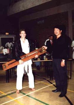 Dave Kershaw awarded Wilkinson Sword