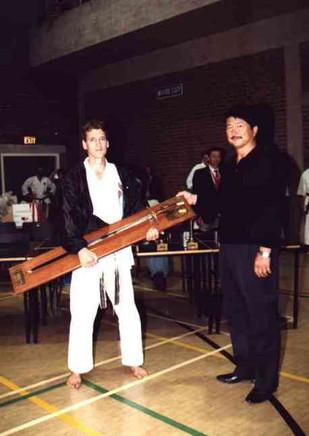 Sensei Kershaw Awarded Wilkinson Sword