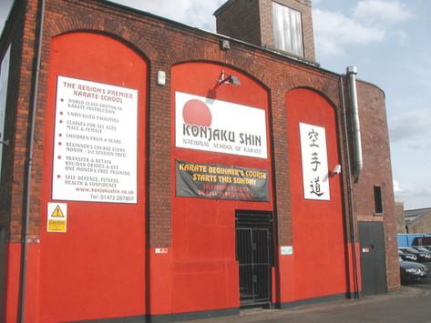 The Konjaku Shin National School of Karate, Grimsby, England
