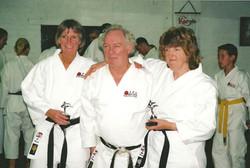 Sue, Linda and Charles