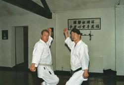 Dave Kershaw and Shiro Asano