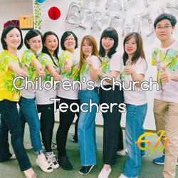 Children's Church Teachers