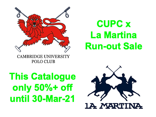 ***Run-out Sale: CUPC LM Bike Polo T-shirt [Closes 30-Mar-21]
