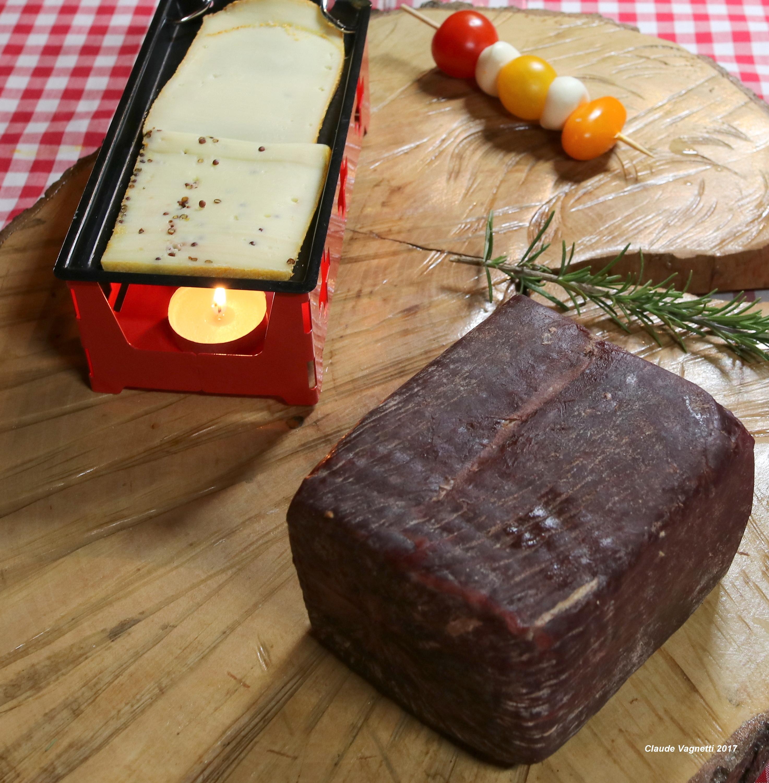 viande de bœuf séchée des Alpes