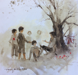 Under the Big Tree, by Tony de Freitas