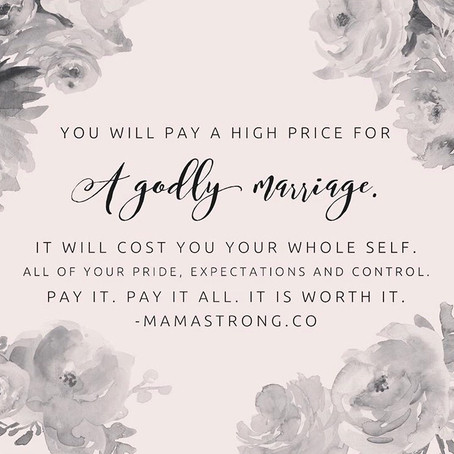 The High Price of Marriage