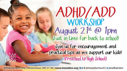 ADHD Workshops