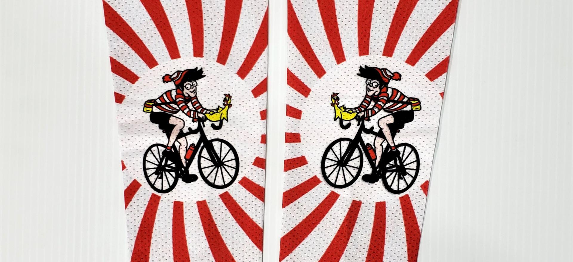 RAGBRAI | Custom arm coolers |Custom UV performance sleeves | UV performance sleeves | Custom Sun Sleeves | Custom Cycling Arm Warmers | Custom Arm Warmers | Arm Warmers | Custom cycling sleeves |