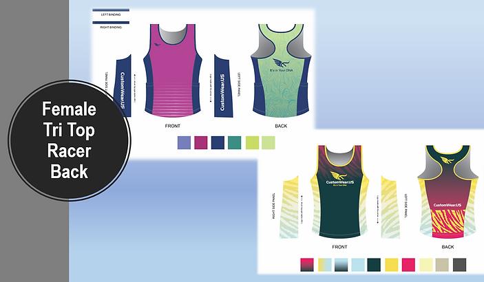 47a32f652b3 Custom triathlon tops and clothing