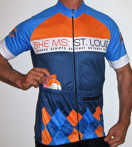Recumbent Cycling Jersey with front pockets 88c05ed77