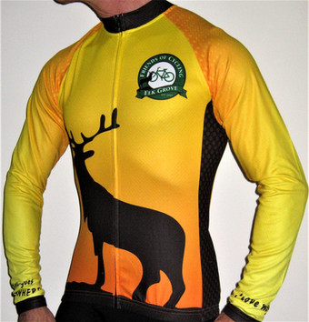 Cycling clubs extend their riding season | Custom Long Sleeve Cycling Jerseys with technical fleece