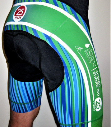 Chamois | Cycling Pad |Diabetes Research Foundation American Diabetes Association – Tour de Cure | Bike MS cycling shorts | JDRF Diabetes Foundation - Juvenile Diabetes Research Foundation