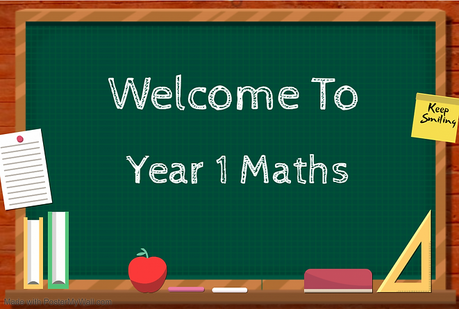 Welcome to Year 1 Maths.PNG