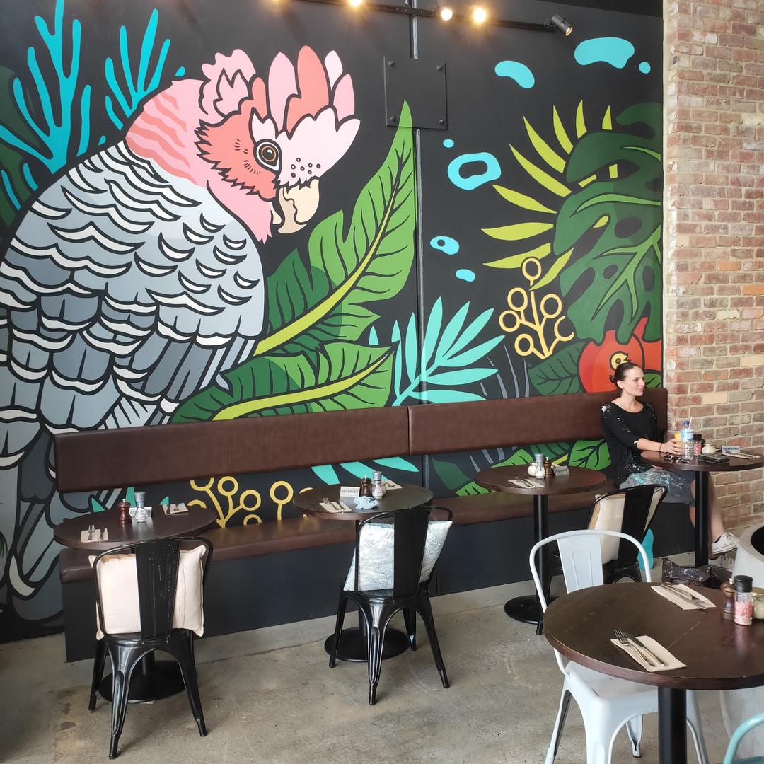 Laneway Seven Cafe Mural