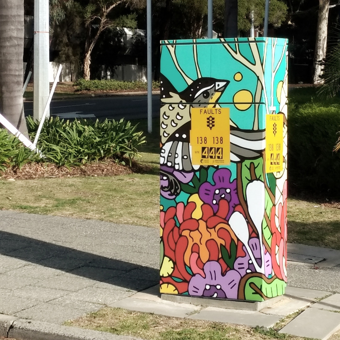 Art Series Electrical Boxes - City of Perth and WA Police