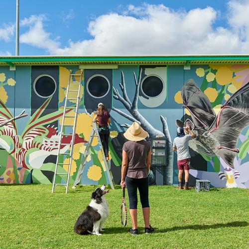 Clifton Park Flora and Fauna Mural