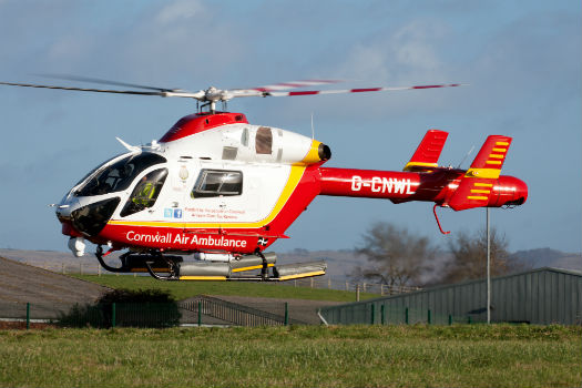 Cornwall Air Ambulance Welcomes Md902 Pair Into Operations