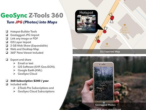 Z-Tools 360 1 YR  50 GB
