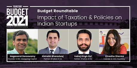 Impact of Taxation & Policies on Indian Startups