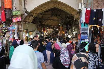 Aural Topography, Timche at Tehran Grand Bazaar