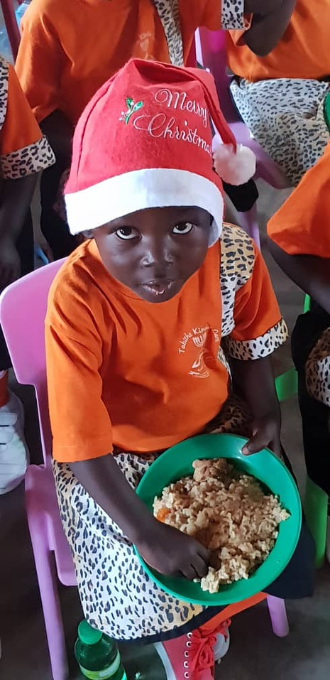 Weihnachtsfeier in Kawolokota, Uganda